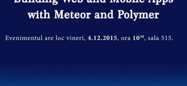 Building Web and Mobile Apps with Meteor and Polymer